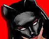 Sexy Black PVC CatMask