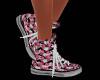 Pink Rose's Sneakers