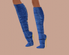 (wiz) Blue Denim Boots