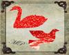 Ruby Bird & Swan