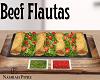 Beef Flautas