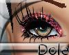 <Dole>GlitterLashesRed