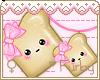 <3 Toast Necklace