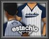 (e) Navy Baseball Tee