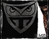 Dope Black Owl Shirt
