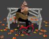 Fall Bench Kiss