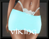 RLL Teal & Lace Skirt