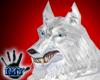 |Imy| Arctic Wolf Head