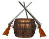 Powser Keg and Guns