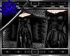 S' +Leather Kimono+