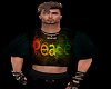 Peace  crop top