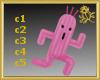 Cactus Toy Pink