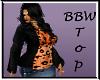 BBW Orange Sweater top