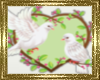 LD~ Love Birds Sticker