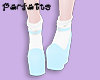 ♡ Lolita Wedge - Blue