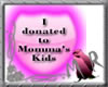 Donate to tha kids-pink