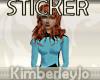 Beverly Crusher STICKER