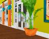 $ Orange Potted Plant.