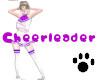 Cheerleader Purple
