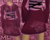 belted short kimonoskirt