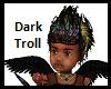 Kids Dark Trolls Tiara