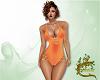Orange Swimsuit