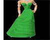 Green dresse