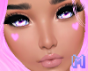 🅜 CANDY: heart pink