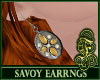 Savoy Earrings Yellow
