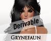 Derivable long hair 13