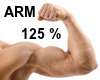 Arm Biceps Enlarger 125%