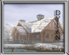 !!D Winter Cabin by lake