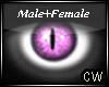 Pink Cat Eyes M/F