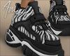 $ Zebra Sneakers