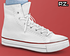 rz. White High Shoes